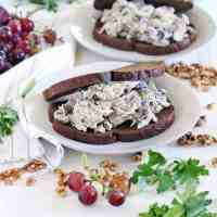 Awesome Chicken Salad with Grapes and Walnuts