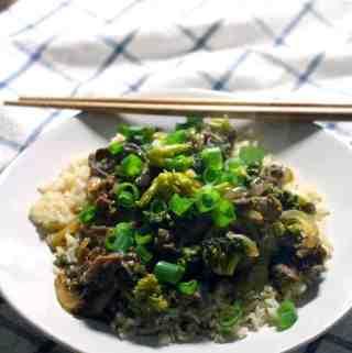 Five-Spice Orange Beef and Broccoli