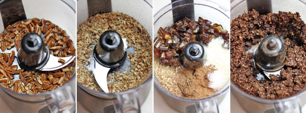 Chocolate Coconut Energy Balls With Pecans And Dates