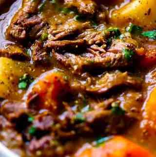 Irish Lamb and Potato Stew