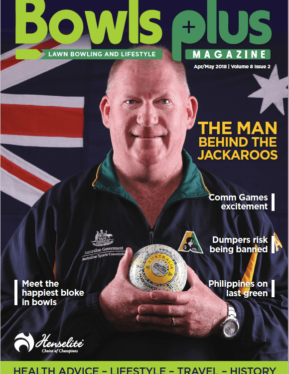 Cover image with Steve Glasson