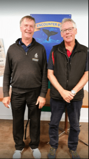 South Australia's Encounter Bay Bowls Club pairs winners