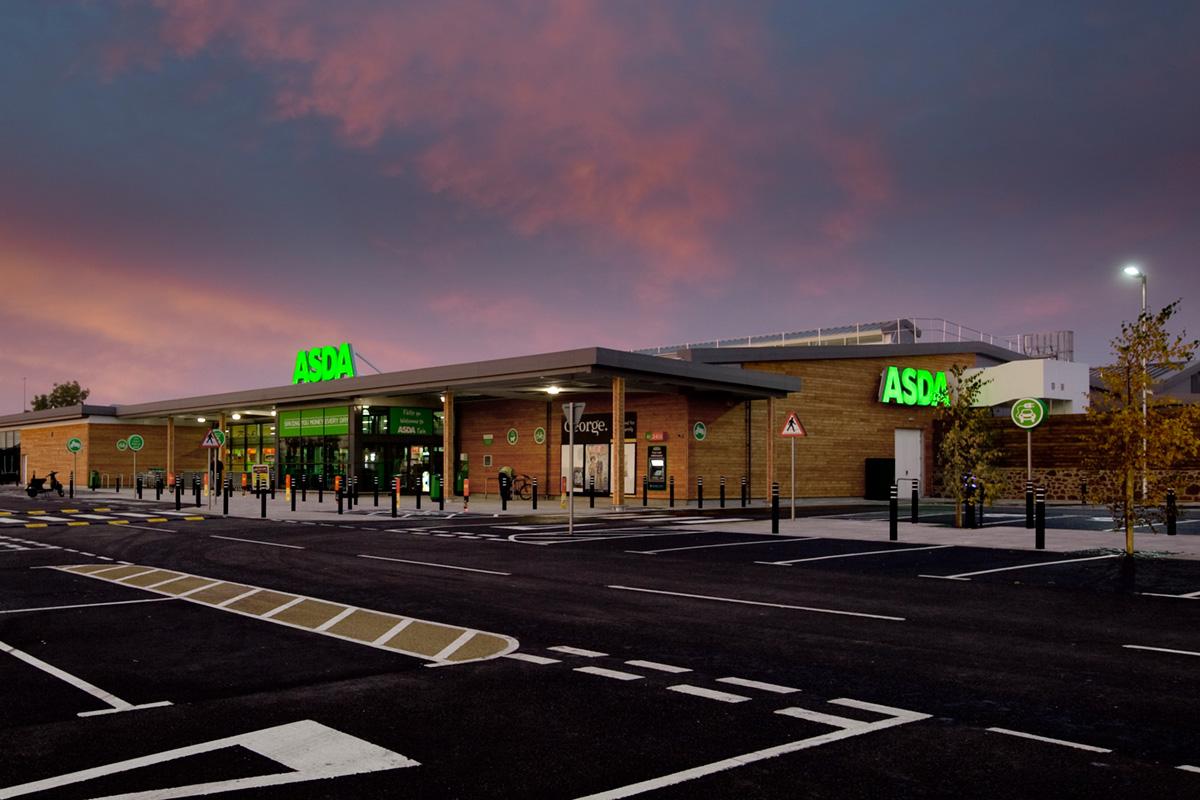 New Asda Supermarket Tain Scotland Bowman Riley