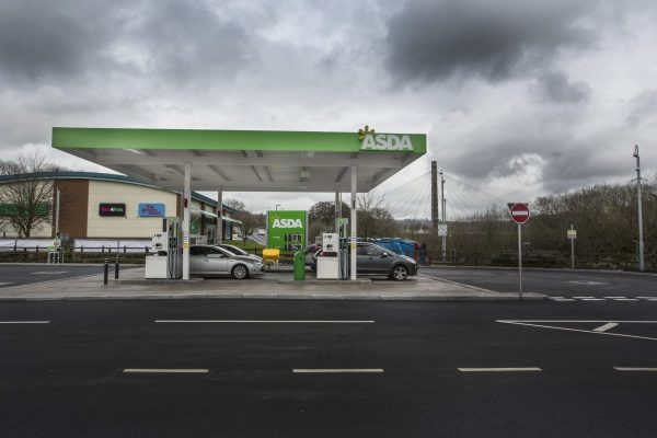 Asda Petrol Filling Station - Blackwood South Wales