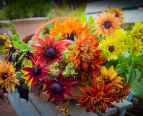 Autumn Posy Workshop