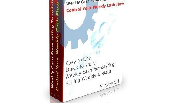 Weekly Cash Flow Forecast Template