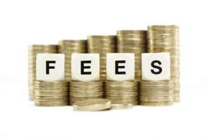 Fees for late payment from customers