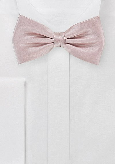 Mens Solid Color Bowtie in Blush Pink  BowsNTiescom