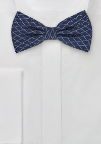 Silk Bow Tie With Modern Pattern | Bows-N-Ties.com