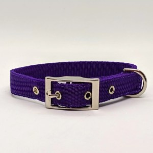 purple polyprop collar and ideal every day collar for your dog