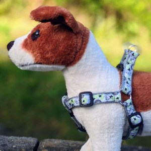 doggy chic butterfly step in dog harness