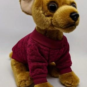 Sweatshirt Dog Jumper in Mulberry