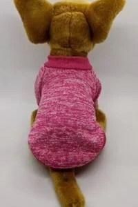 Sweatshirt Dog Jumper in Cerise