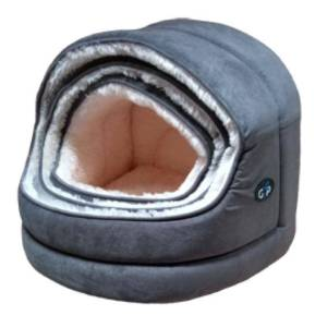 Nordic Hooded Bed in grey