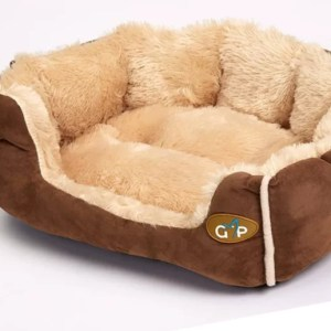 Nordic Snuggle Bed in Brown