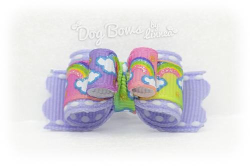 Twinkle Pastel Rainbow ~ Plush Tie