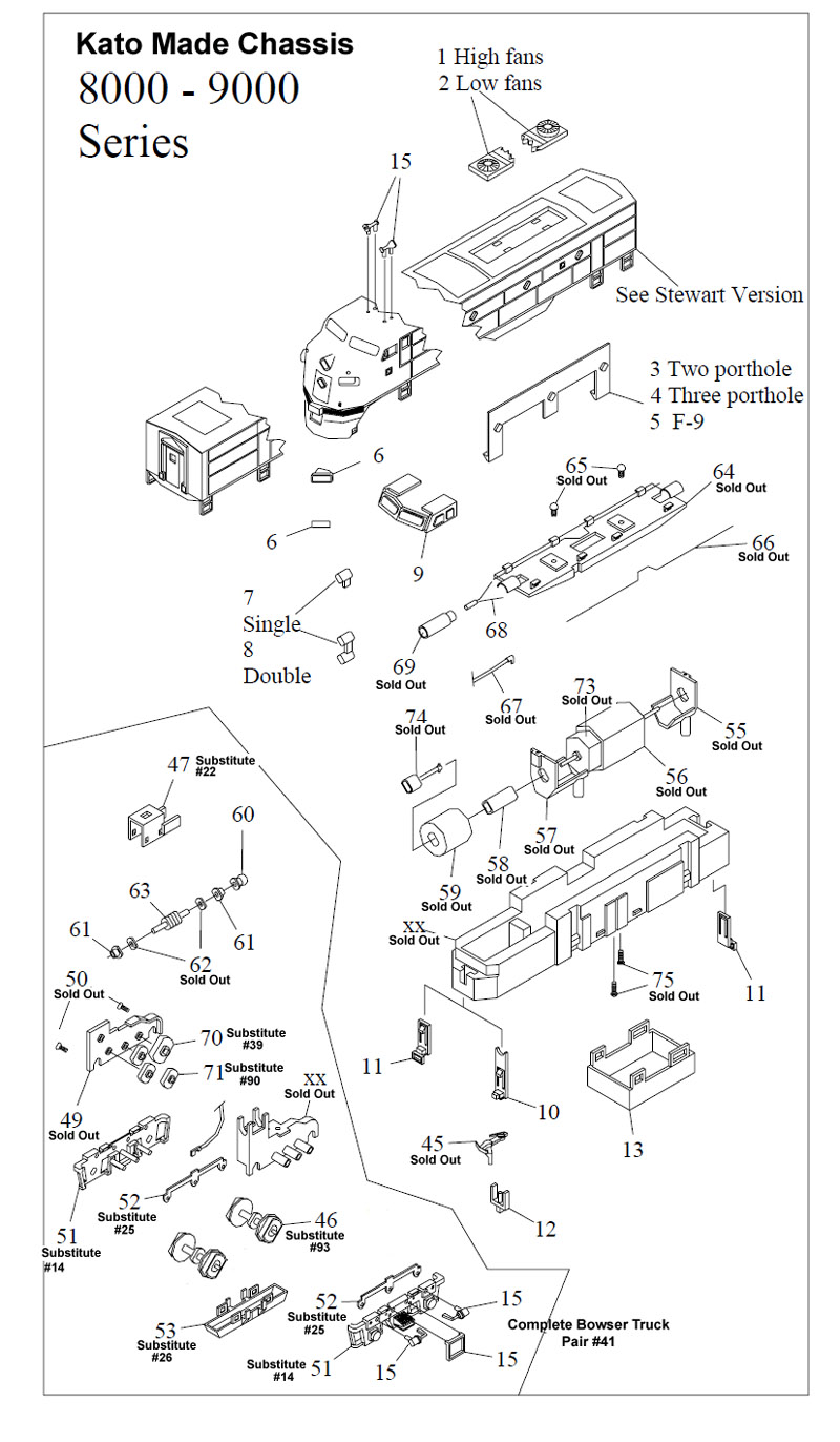 Instructions & Parts Drawings