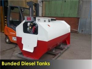 Bunded Diesel Tanks