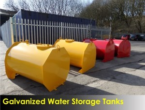Galvanized Water Storage Tanks
