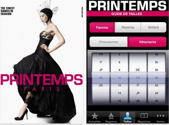 app iphone fashion galeries lafayette