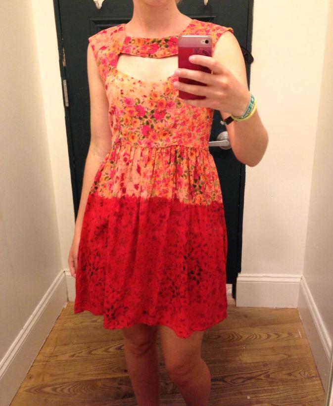 robe decollete coeur