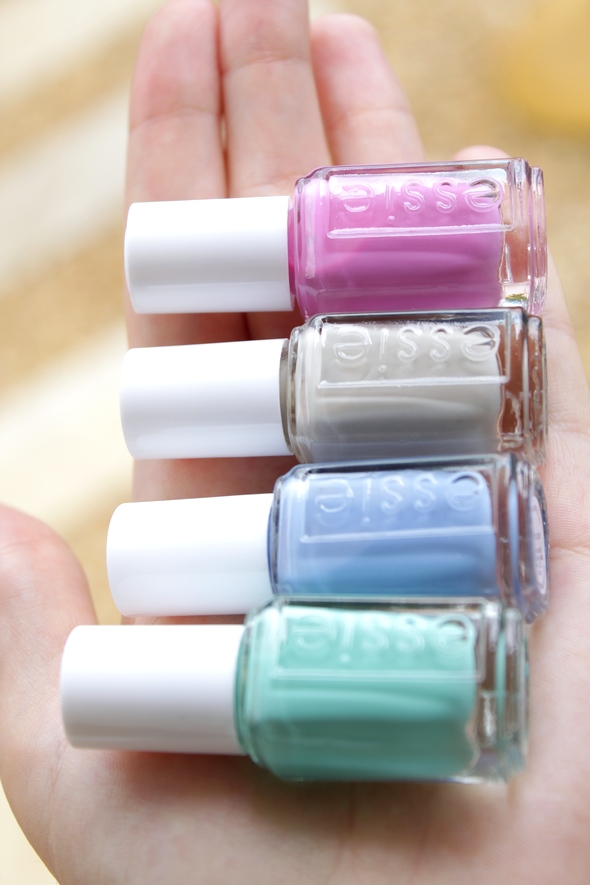 essie resort collection nail polish swatch