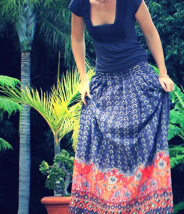 jupe longue comptoir