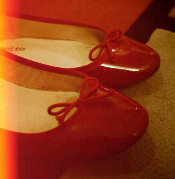 repetto cherry rouge cerise bb ballerinas ballerines bb flats