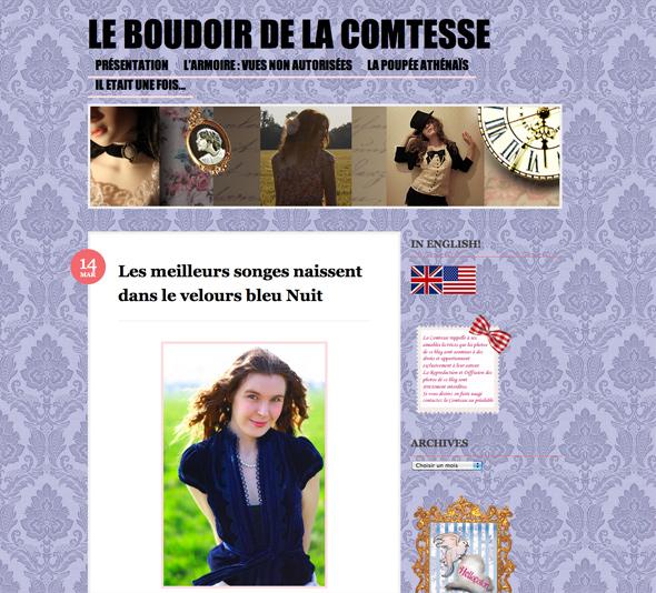 boudoir de la comtesse
