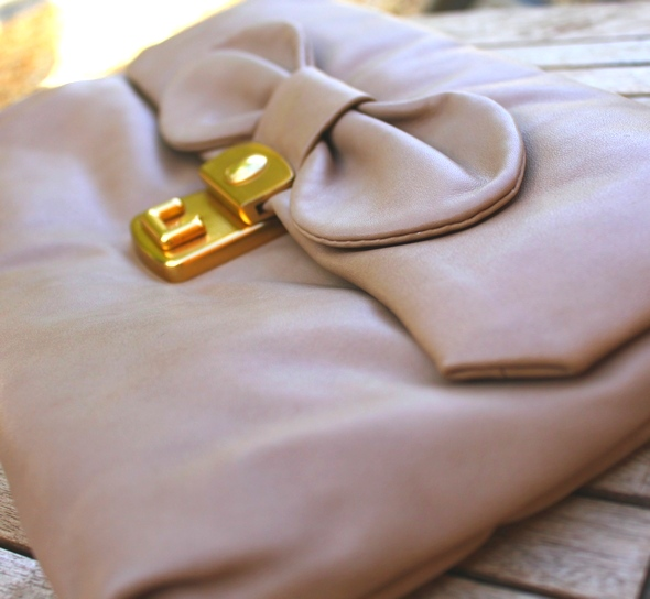 linda marc by marc jacobs clutch bag bow pochette noeud