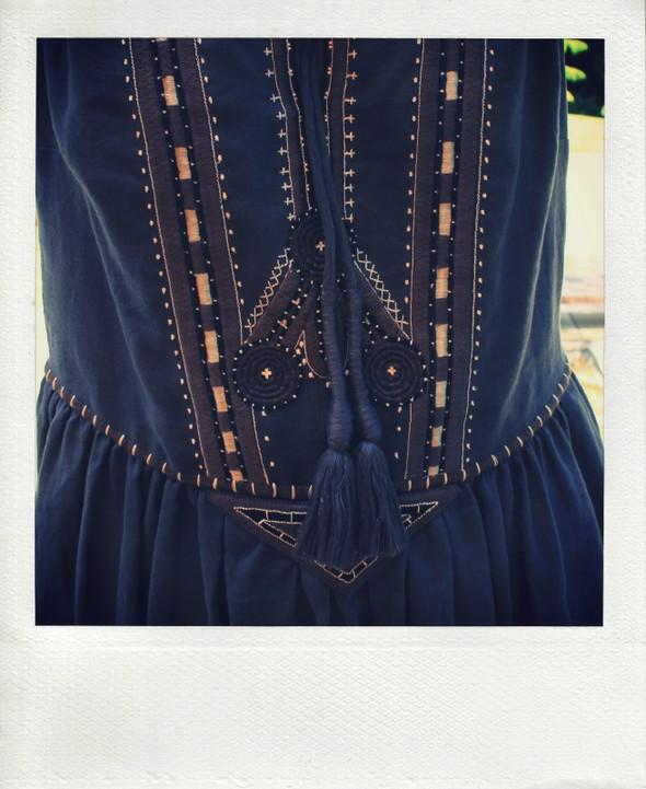 robe brodee comptoir des cotonniers