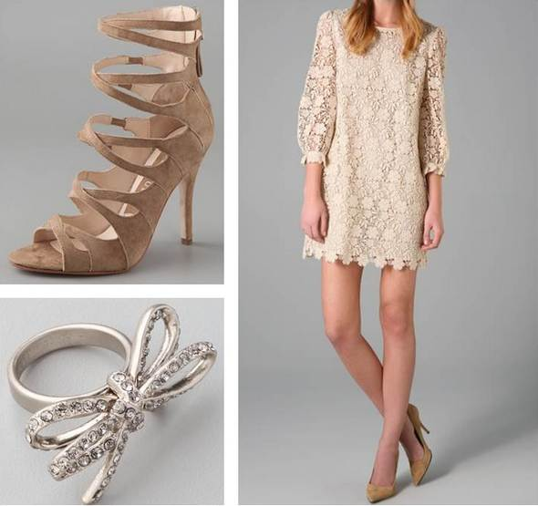 Juicy coutre lace dress Marc By Marc Jacobs Bow ring