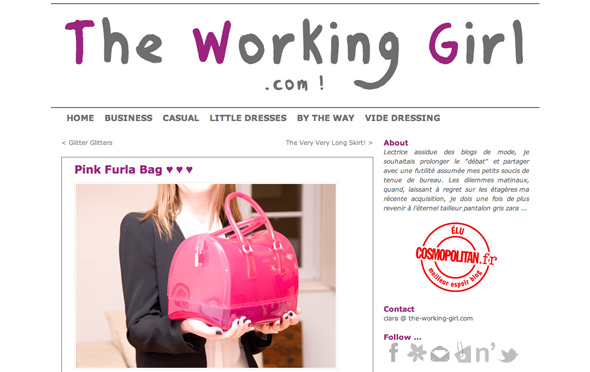working girl furla sac candy Chez les Blogueuses