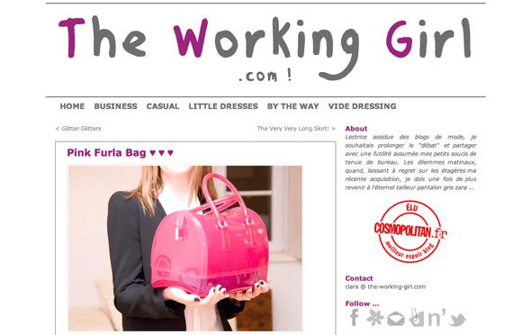 working girl furla sac candy Chez les Blogueuses