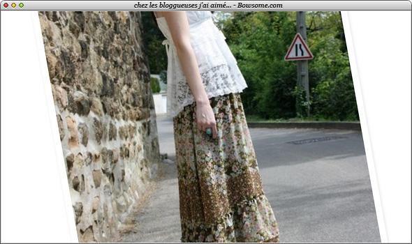 maxi skirt h&m