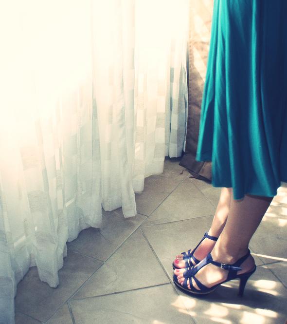 sandales zara compensees