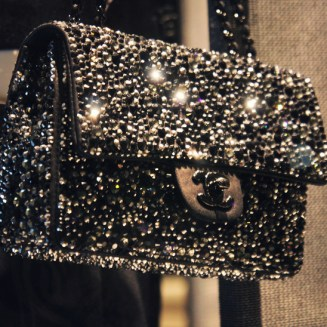 timeless bag black sequins