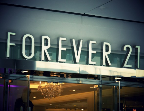 magasin forever21 Barcelone