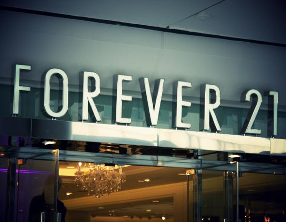 magasin forever21 Barcelone