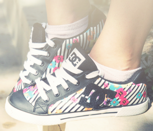 DC shoes baskets fille