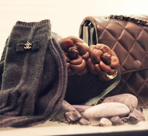 Chanel gloves winter