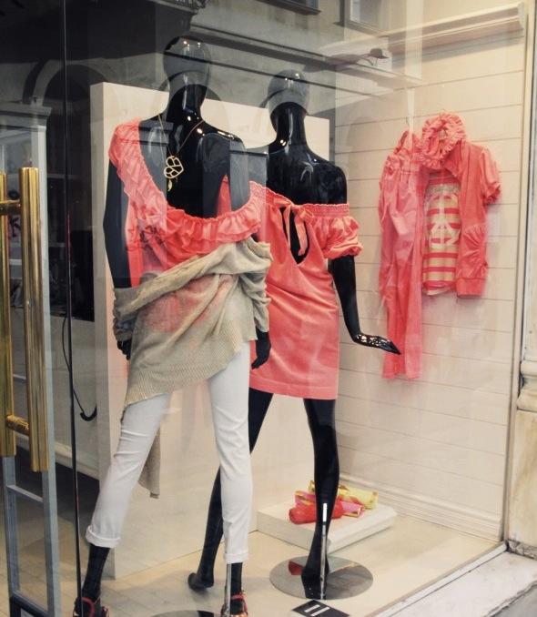 fluo grèce grecque tenues mode shopping fashion lifestyle