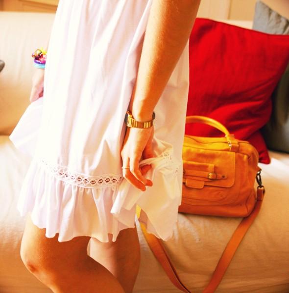 lipsy robe blanche