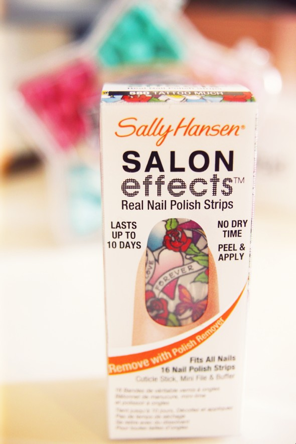 nail patch sally hansen