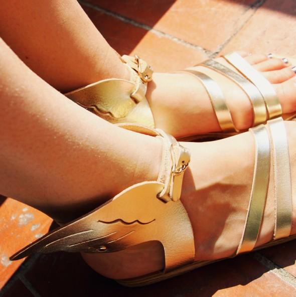 sandales ancien greek sandals