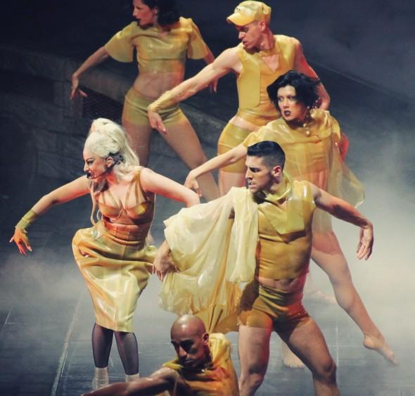 danseurs lady gaga