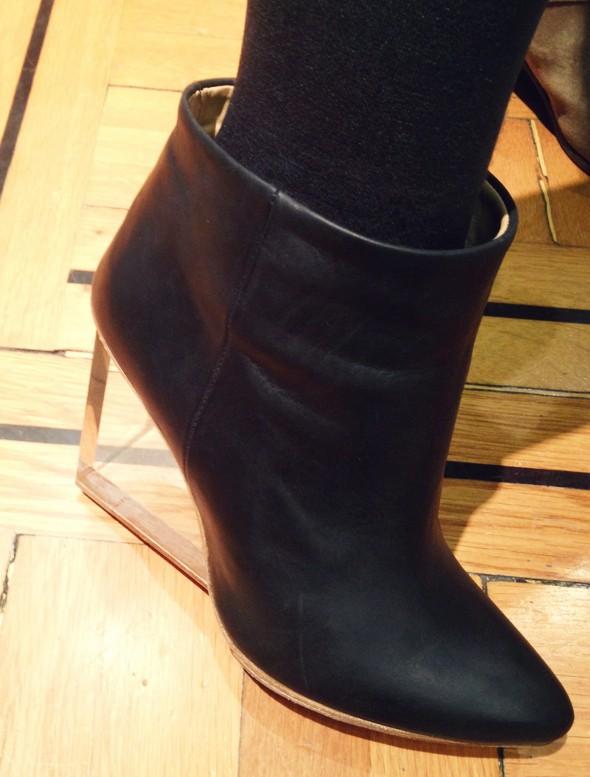 H&M x Maison Martin Margiela bottines plexi plexiglas boots