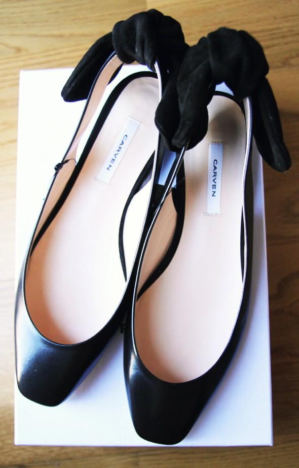 sandales à noeuds carven