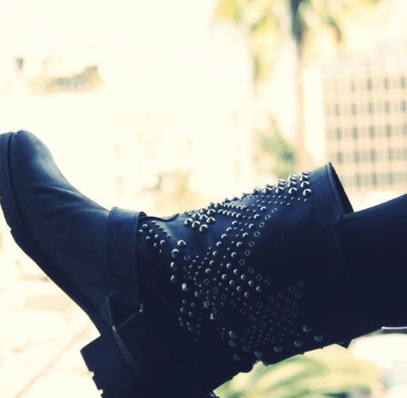 bottes studded boots zara 2012 2013_effected