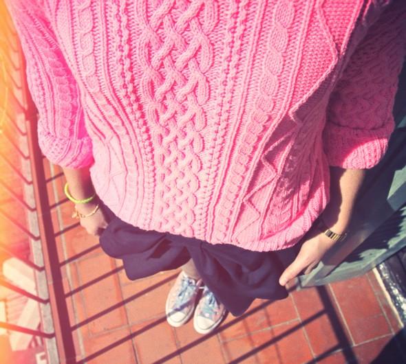 converse pull knitwear marilyn darel superdry pink neon fluo rose.jpg_effected